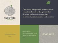 Good Tree Branding concept