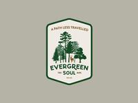 Evergreen Soul badge concept