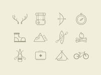 Evergreen Soul icon set