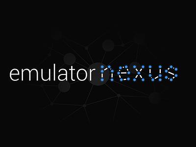 Emulator Nexus Logo logo nexus design logo design