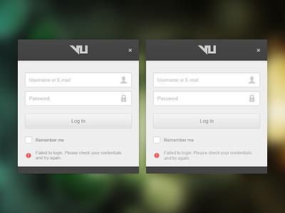 Login Dialog Comparison software form button ui design ux login input windows application