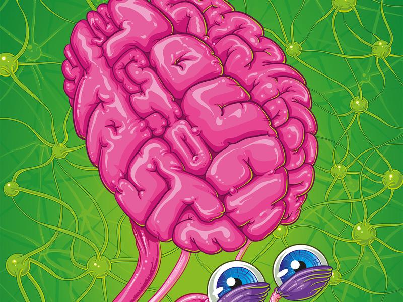 Skittles 'touch to taste' logo cartoon cover branding illustrator art vector design illustration