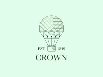 Daily logo challenge: 02 — Hot air balloon