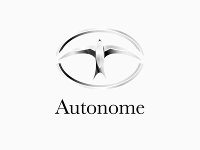 Daily logo challenge: 05 — Driverless car luxury premium swallowbird bird vector shiny metallic carlogo logospire logogoals logolearn logodesign graphicdesign dailylogochallenge