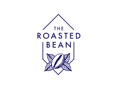 Daily logo challenge: 06 — Coffee shop coffeebean coffeeshop coffee drawing illustration branding logodesigner designinspiration logolearn logodesign graphicdesign dailylogochallenge