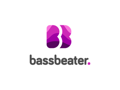 Daily logo challenge: 09 — Streaming music startup namegeneration musicplayer musicstreaming music beats bass branding logolearn logodesign graphicdesign dailylogochallenge