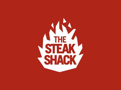 Daily logo challenge: 10 — Flame namegeneration saulbassinspired flamelogo steakhouse steak branding logolearn logodesign graphicdesign dailylogochallenge