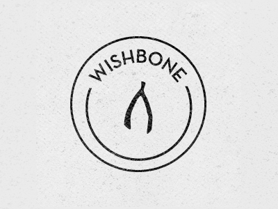 Dribbble 040 logo wishbone