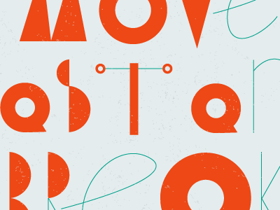 Dribbble 041 type typography experiment