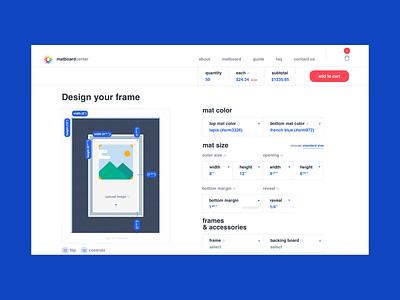 Custom configurator web design new york los angeles design agency website ux ui illustration design app