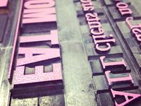 Letterpress Inked