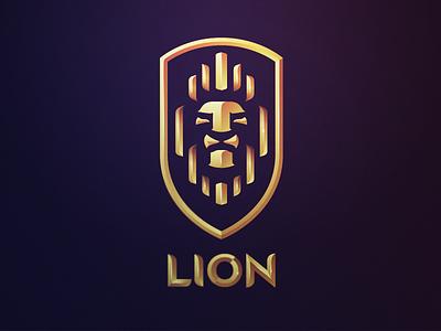 Lion Crest lion logo crest heraldry