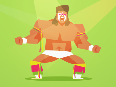 80's Wrestlers - The Ultimate Warrior
