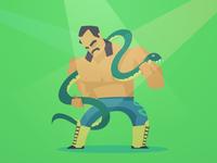 80's Wrestlers - Jake 'The Snake' Roberts