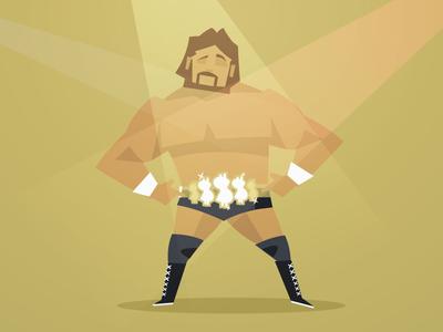 80's Wrestlers - 'The Million Dollar Man' Ted DiBiase