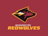 Red Wolves washington gridiron team sport logos sports animated animation football nfl redskins redwolves wolves red