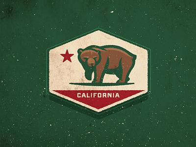 California Bear bear sports logo california