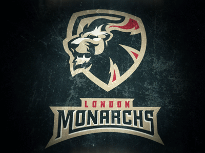 London Monarchs 3 london monarchs logo concept football helmet