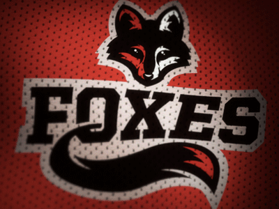 Foxes Logo Concept foxes logo concept sports