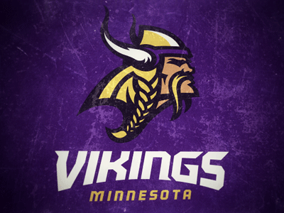 minnesota vikings logo concept by fraser davidson dribbble