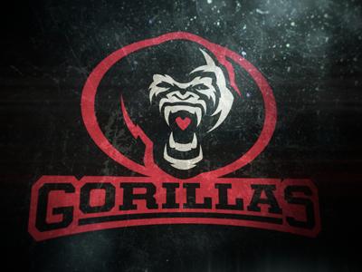 Gorillas Logo Concept gorillas logo concept sports football