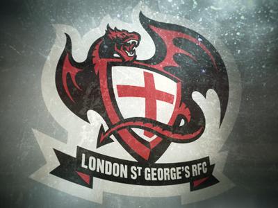 London St George's RFC Dragons ontario canada london st saint george rugby football club rfc logo dragons
