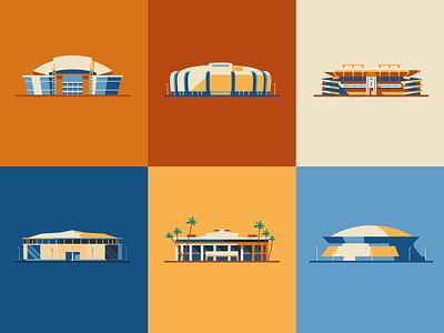 Stadia stadiums