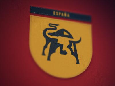 Espana spain espana brand identity international logo embroidery