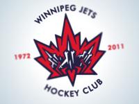 Winnipeg Jets Logo White