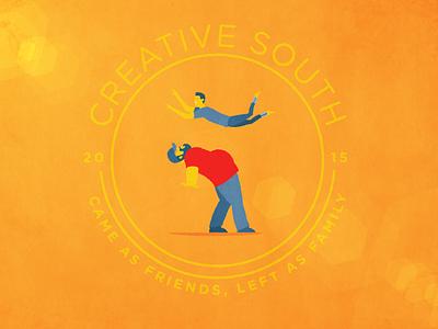 Creative South 2015 creative south animation belly bump design gif animated
