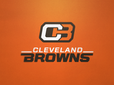 Cleveland Browns Logo Concept 3 football cleveland browns nfl ohio sport gridiron