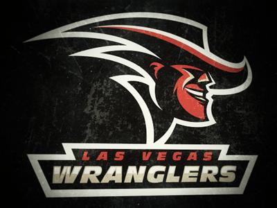 Wranglers Concept wranglers las vegas football logo sport
