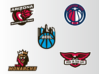 The Basketball Tournament Logos 2