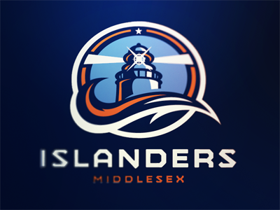Middlesex Islanders Concept 2 middlesex islanders ice hockey nhl sports logo concept