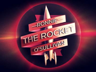 Ronnie 'The Rocket' O'Sullivan ronnie the rocket o sullivan snooker logo