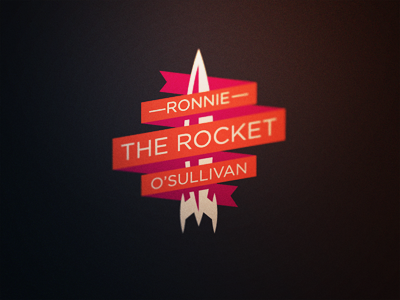 Snooker Logos: Ronnie 'The Rocket' O'Sullivan ronnie the rocket o sullivan snooker logo