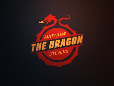 Snooker Logos: Matthew 'The Dragon' Stevens matthew stevens dragon snooker logo