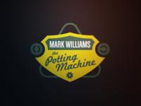 Snooker Logos: Mark 'The Potting Machine' Williams