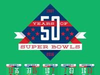 Super bowl 50 poster