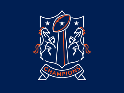Champions 50 bowl super broncos denver