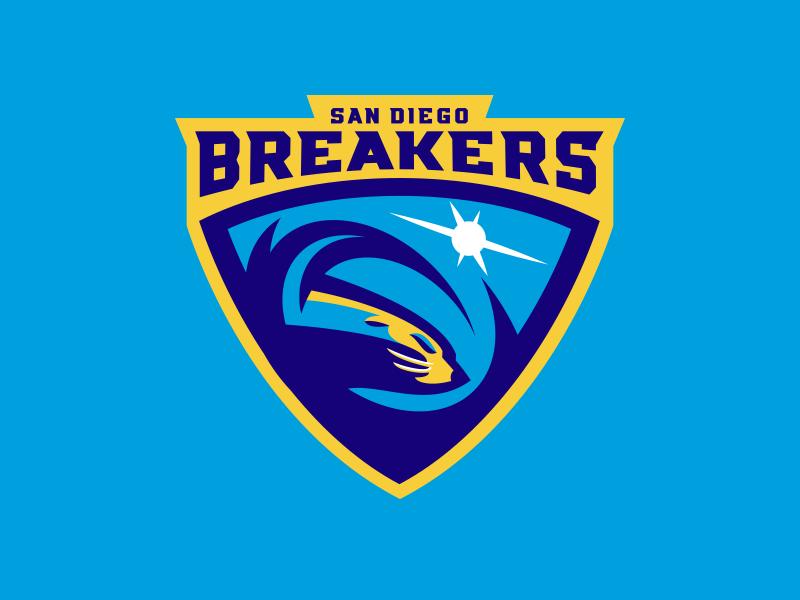 San Diego Breakers team logo ohio sacramento dever diego francisco san rugby pro