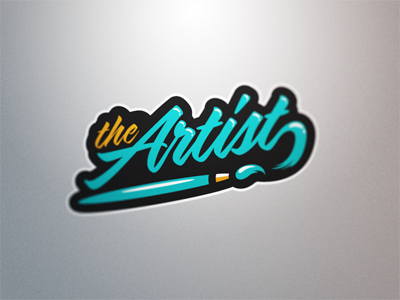 The Artist darts logos