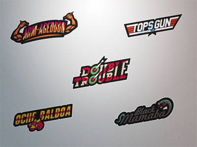 darts player logos set 7 by fraser davidson dribbble