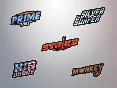 darts player logos set 10 by fraser davidson dribbble