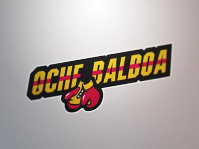 Oche Balboa darts logos