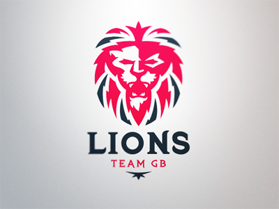 Team GB Logo Concept team great britain american football gridiron lions