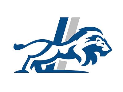 Lion detroit lions logo pounce lion