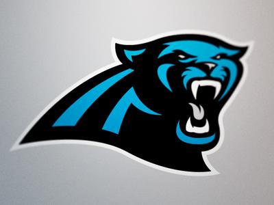 Carolina Panthers Logo By Fraser Davidson Dribbble Dribbble