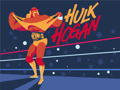 Hulk Hogan rude rick ravishing savage randy man macho warrior ultimate hogan hulk wwf