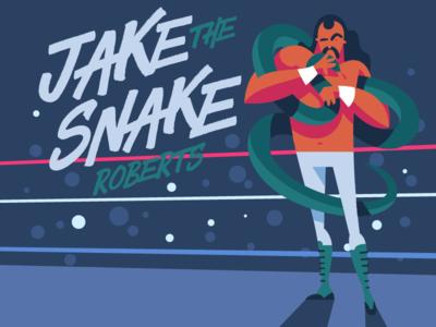 Jake The Snake Roberts ultimate warrior macho man randy savage roberts snake jake hulk hogan